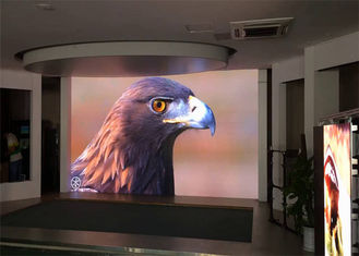 Meeting Room Indoor Led Display Screen P4 High Definition Energy Saving
